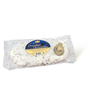 Original Dresdner Christstollen in Folie 500 g